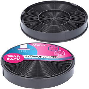 2 Aktivkohlefilter Geruchsfilter für Neff Z5135X1-01 Dunstabzugshaube Ø196mm