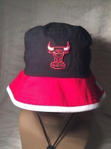 0e87316d4 100% AUTHENTIC NEW ERA NBA CHICAGO BULLS BUCKET HAT (X-SMALL ...