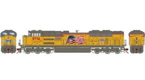 Athearn Genesis   68796  SD70ACe Union Pacific   8736  HO Scale MIB