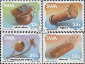 Namibia complete.issue. Southwest 579-582 Unmounted Mint / Never Hinged 1985 Durable In Use