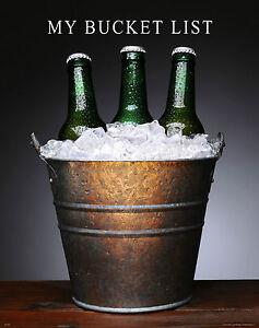 College Beer Motivational Poster Art Bar Tavern University My Bucket List MVP275
