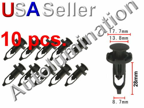 Toyota Camry Lexus Bumper Cover Grille Push Fastener Retainer Clips 52161-20010