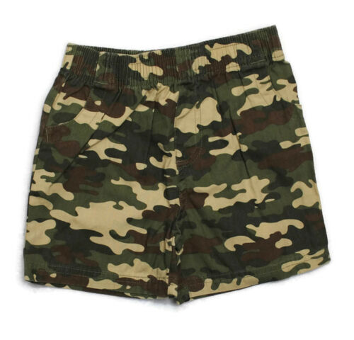 NWT GARANIMALS Boys Kid Clothes Elastic Waist Camo Shorts 18 Mo Or 2T
