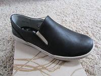 Born B.o.c Hampton Black Slip On Loafer Shoes Womens 8.5 Free Ship