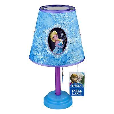 Disney Frozen Movie EVA NIGHT LIGHT Heart LAMP Anna Elsa Bedding Bed Room Decor
