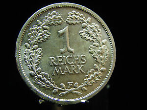 - M.f.b - Dt. Reich Weimarer Republik 1 Reichsmark 1925f Stuttgart - Stg 254 Kunden Zuerst