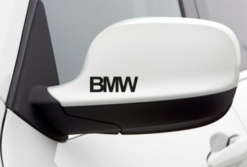 4x Wing Mirror Stickers fits BMW Car Decal Vinyl decal Adhesive AL8