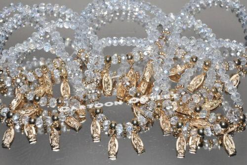 12 X RECUERDO BAUTIZO VIRGEN GUADALUPE GLASS BAPTISM BRACELETS FAVORS COMMUNION