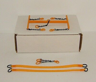 Evot - Brass Lifting Frame 1:48th. Authentic Liebherr Yellow. Crane Accessories.