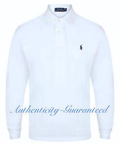 Ralph Lauren Men s Classic Fit Long Sleeve Polo White S - XXL RRP ... 6048c093a534