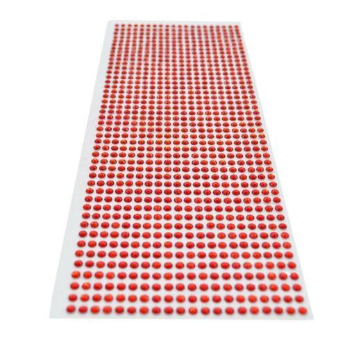900 Rhinestone Self Adhesive Crystal Sticker Gems Diy Bling Decoration Scrapbook