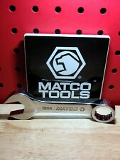 Matco Rcs19m2 19mm Metric 12 Point Stubby Combination Wrench Usa