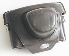 LEICA BROWN LEATHER CASE FOR LEICAFLEX SL AS IS
