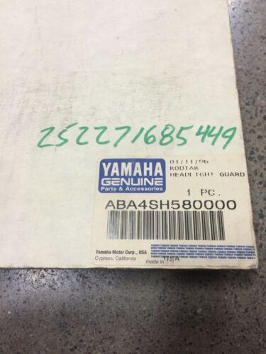 1996 96 YAMAHA KODIAK 400 YFM400 LIGHT HEADLIGHT BRUSH GUARD BRUSHGUARD CAGE