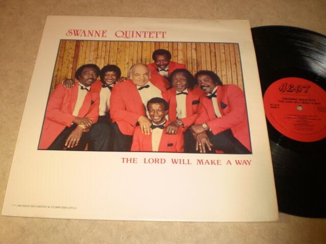 Swanne Quintett: The Lord Will Make A Way LP - Black Gospel
