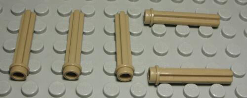 229 LEGO technic connecteur plat 3x3 jaune 4 pièces