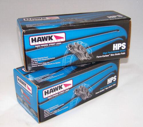 SATURN SKY Front And Rear Hawk HPS Brake Pads For PONTIAC SOLSTICE