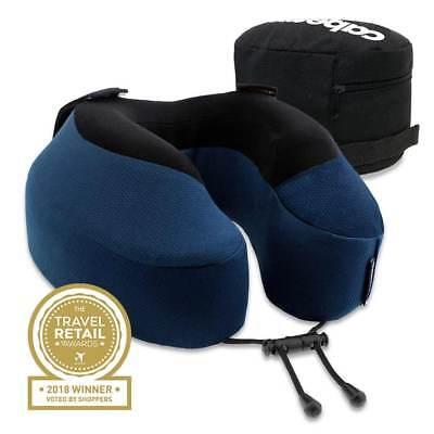 New Cabeau Evolution S3 Memory Foam Neck Pillow + Seat Straps + Washable + Bag   eBay