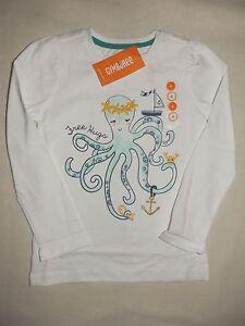 Gymboree CAPE COD CUTIE White L//S Free Hugs Octopus Tee Shirt Top NWT 4 5 6 7
