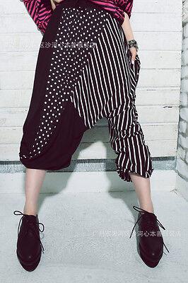 New Elegant Spots & Stripe  Loose Fit YOGA BOHO Gypsy Harem Pants Free Size