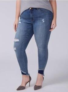 1a3ccebac71 LANE BRYANT ~ NWT! 16 28 ~ POWER POCKETS! Super Stretch Skinny Jeans ...
