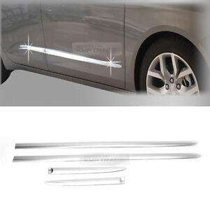 Chrome-Side-Skirt-Door-Garnish-Molding-trim-C262-For-Chevrolet-2015-2019-Impala