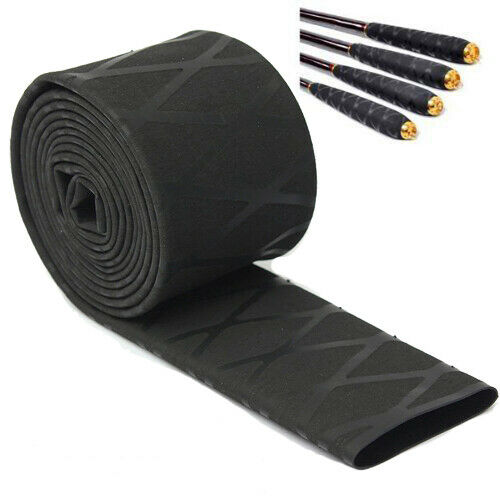 100 2cm Fishing Rod Handle Wrap Heat Shrink Sleeve Sleeving Tube Tubing