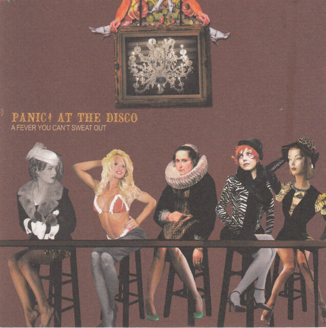 PANIC! AT THE DISCO - A Fever You Can't Sweat Out - CD - 2006