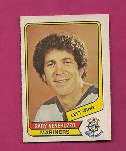 RARE-1976-77-OPC-WHA-21-MARINERS-GARY-VENERUZZO-NRMT-CARD-INV-3695