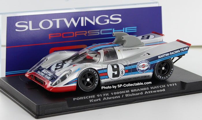 SLOTWINGS Porsche 917K 1000km Brands Hatch 1971 rif. W005-04 NUOVO NEW 1 32
