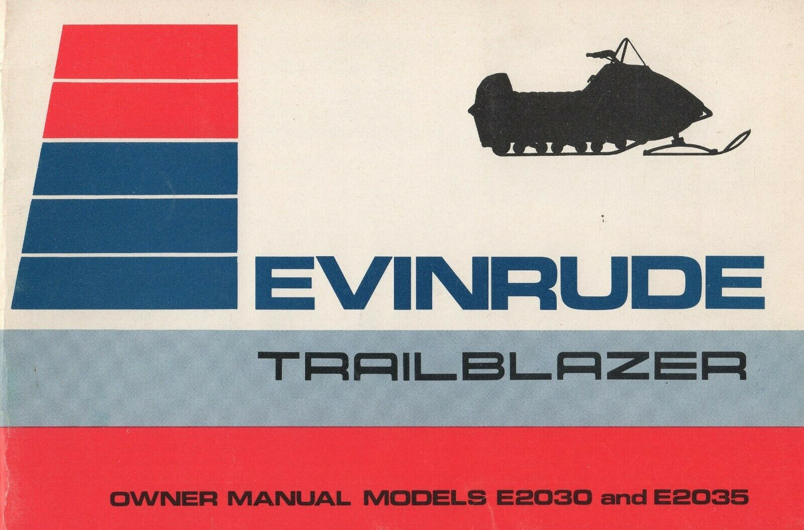 1973 EVINRUDE SNOWMOBILE TRAILBLAZER OWNERS  MANUAL P N 262373 (224)  store online