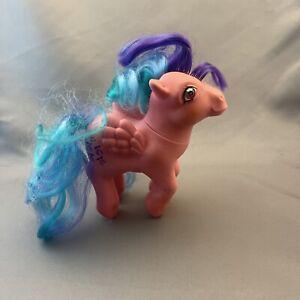 My Little Pony WHIZZER Twinkle Eye Pink Pegasus Curly Hair Vintage G1 Hasbro