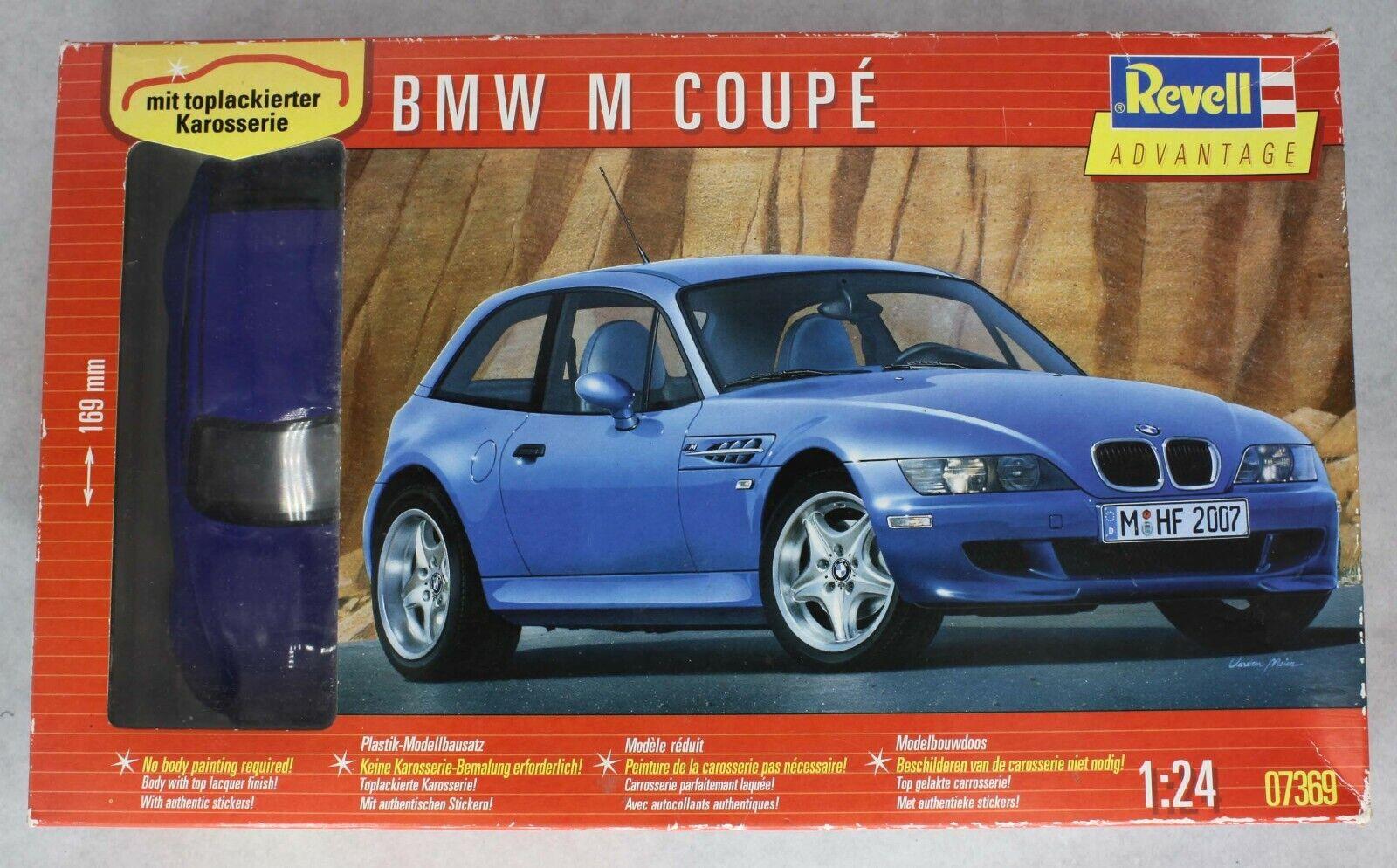BMW z3 M Coupé REVELL 124 KIT 07369