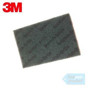 3M-SCOTCH-BRITE-AUTOMOTIVE-GENERAL-PURPOSE-SCOURER-PADS-9-034-X-6-034-GREEN-5-PADS
