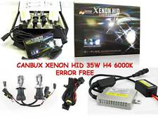 CANBUS XENON HID CONVERSION KIT ERROR FREE DOUBLE BEAM H4 6000K