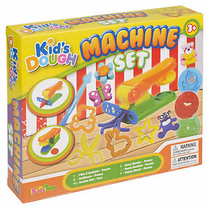 21-Pc-Machine-Clay-Kids-Dough-Set-Activity-Craft-Cutters-Tubs-Shapers-Gift-Xmas