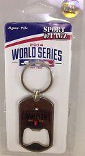 MLB San Francisco Giants 2014 World Series  Matel Dog Tag Bottle Opener Keychain