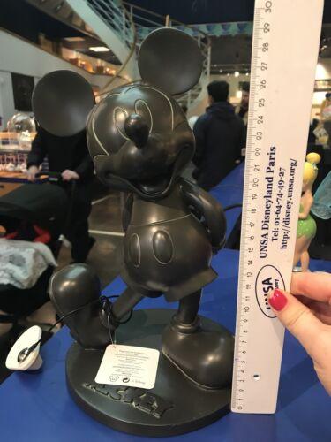 Statue Mickey Effet Bronze Neuf Dans Sa Boîte Disneyland Paris env 30 cm