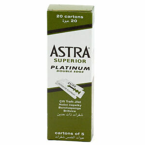 100-X-Astra-Superior-Platinum-Double-Edge-Safety-Razor-Blades-FREE-SHIPPING