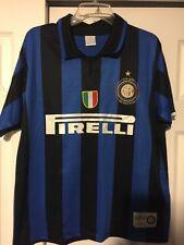 Vintage Racing God Imfc 1908-2008 Internazionale Milano Inter Milan Jersey 23x29