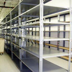 "Industrial Shelving - 18"" x 36"" w/5 Shelves - Industrial Grade Shelving"
