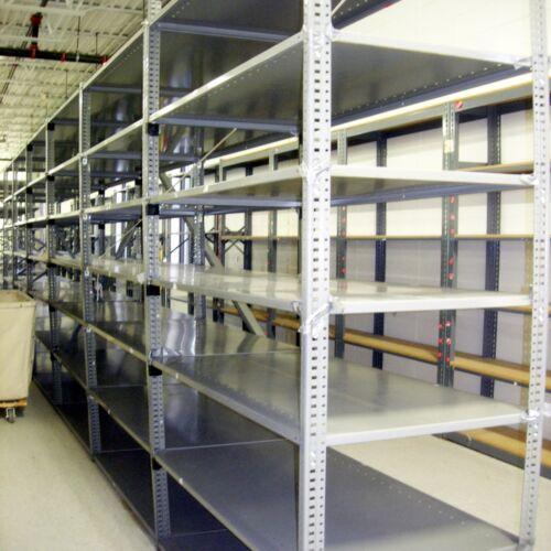 "Industrial Grade Shelving 18/"" x 36/"" w//5 Shelves Industrial Shelving"