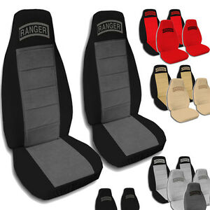 Details About 1998 2003 60 40 Ford Ranger Seat Covers 9 Color Options Armrest With Cup Holder