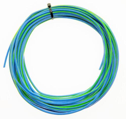 KFZ Kabel Litze Leitung FLRy 0,75mm² 10m blau grün Auto Pkw Lkw