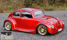 VW Escarabajo RC fugazmente 1:10 - 185mm Lexan F. Carson Tamiya Reely hpi Kyosho # 11001