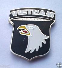 AIRBORNE TAB  SILVER// BLACK Military Veteran US ARMY Hat Pin P12800 EE