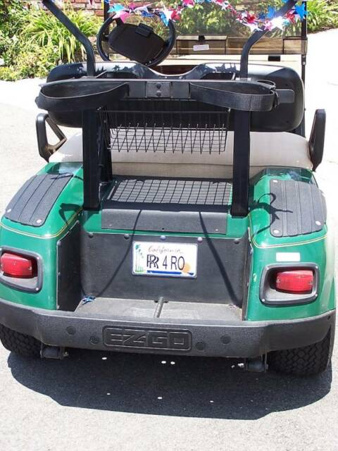 Custom State Golf Cart Mobility Scooter Go Cart Baby Stroller License Plate