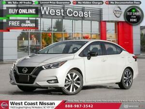 2021 Nissan Versa SR- 0% FINANCING AVAILABLE!