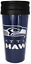 NFL-Team-14oz-Team-Travel-Tumbler-Acrylic-Coffee-Mug-Cup-No-Spill-Lid thumbnail 7