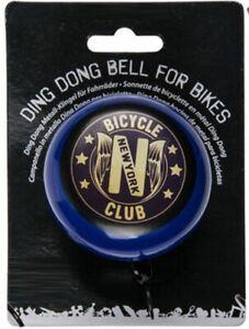 Fahrrad-Klingel-Ding-Dong-Bell-Metall-Klingel-f-Fahrraeder-Bicycle-Club-New-York